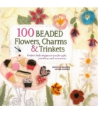 100 Beaded Flowers Charms And Trinkets